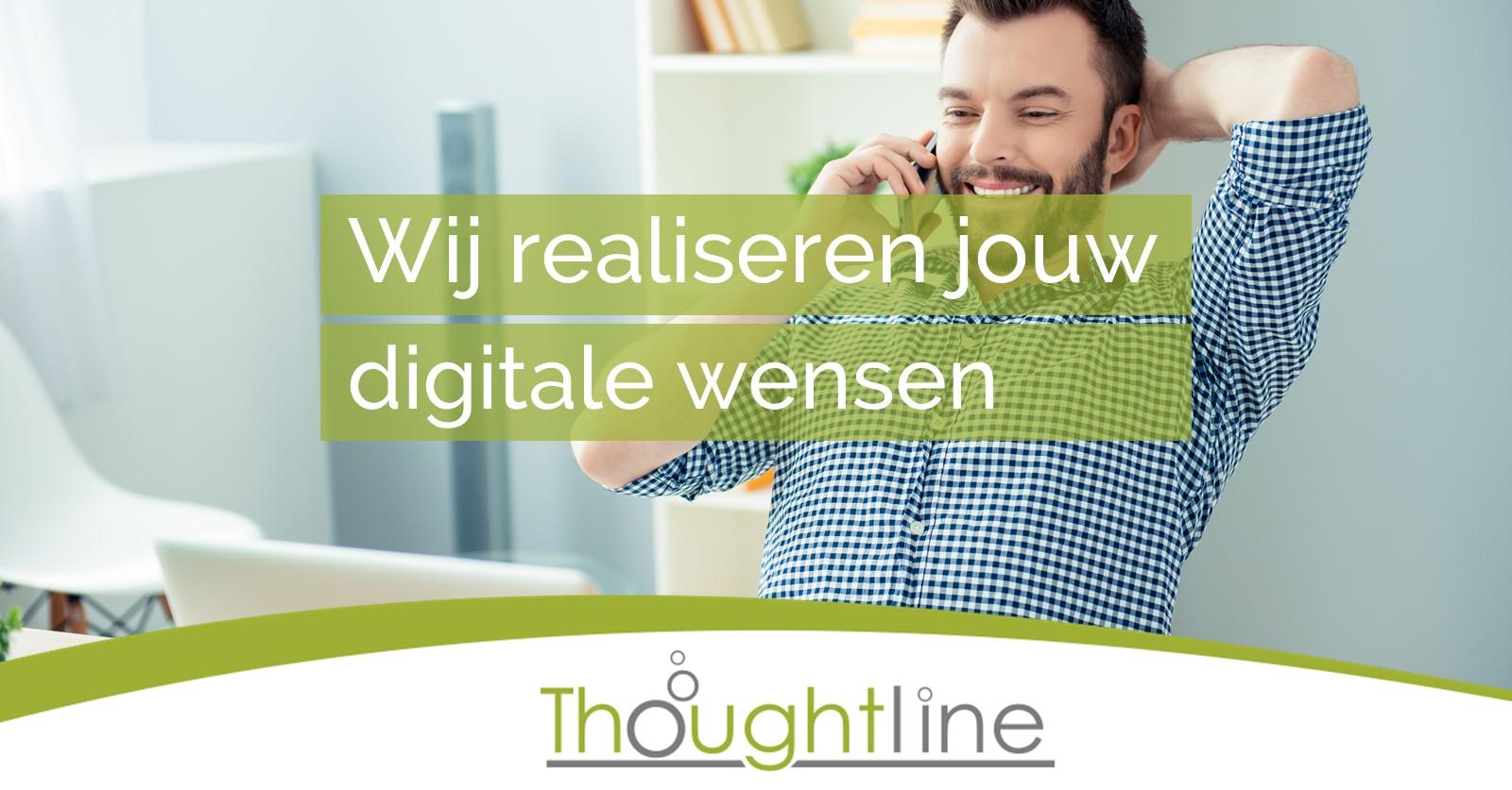 4. Wij realiseren jouw digitale wensen Facebook